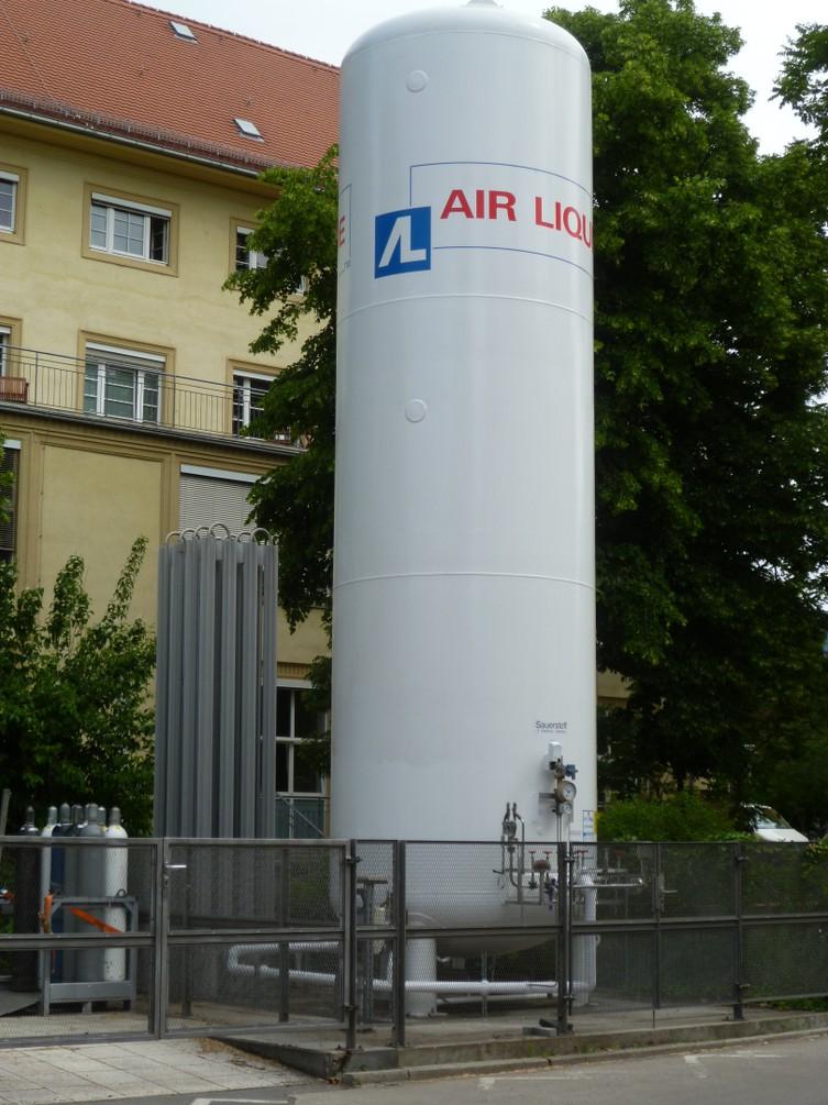 Zentrale Flüssiggas-Tankanlage