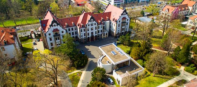 Geschäftsbereiche des Universitätsklinikums Carl Gustav Carus