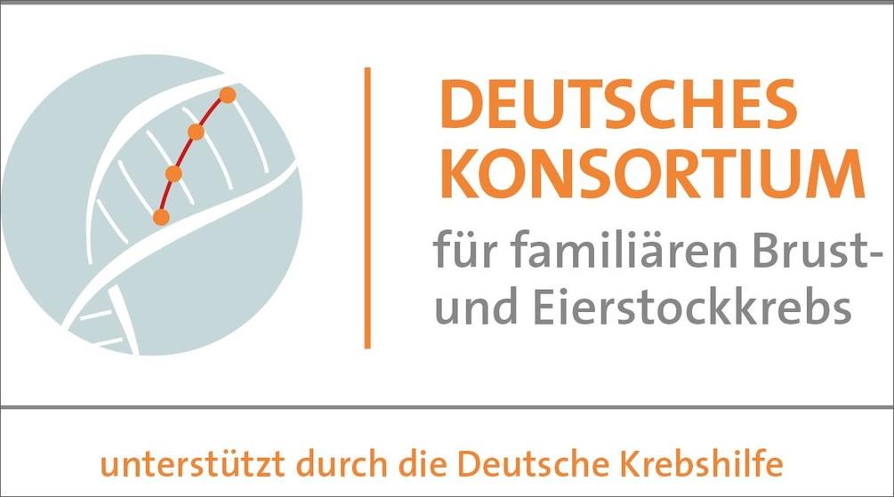Logo Deutsches Konsortium Brust- und Eierstockkrebs