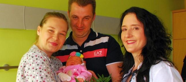 1.000. Klinikums-Baby des Jahres zwei Wochen früher geboren