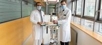 Maximalversorgung startet bereits im Kreißsaal bei angenabeltem Frühgeborenen