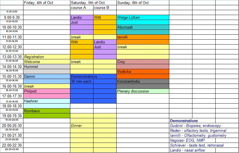 timetable 20.08.2013