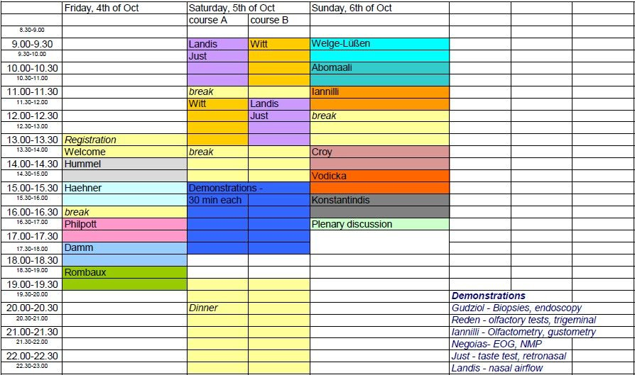 Timetable 26.08.2013
