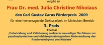 Preis Julia Nikolaus