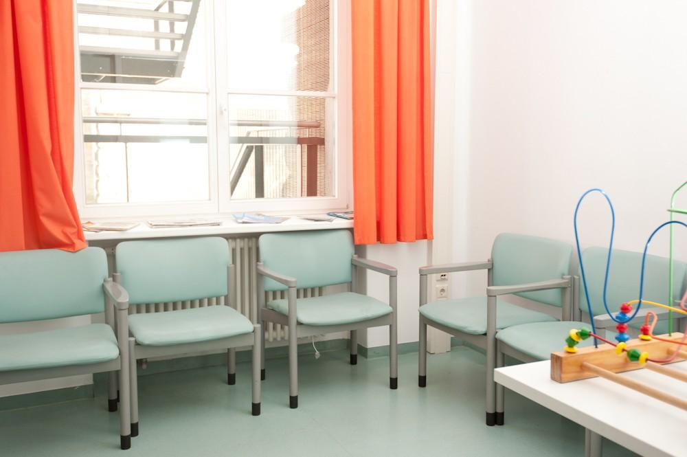 Tagesklinik Wartezimmer
