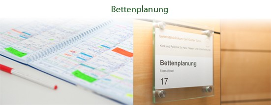 Bettenplanung