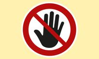 Besuchsverbot Plakat klein