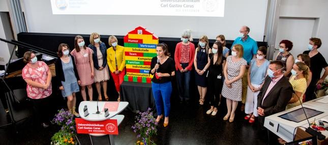 Gründungsveranstaltung des Sächsischen Kinderpalliativzentrums