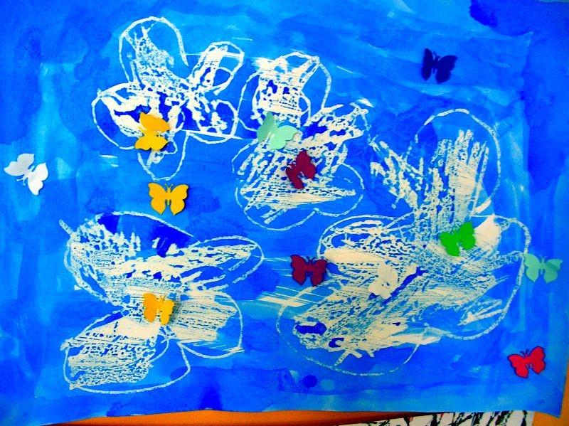 Schmetterlinge am Himmel