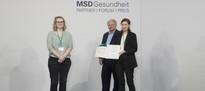 Unser PROMPt-Projekt erhält den Publikumspreis des MSD-Gesundheitsforums