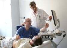Prof. Bornstein und Patient