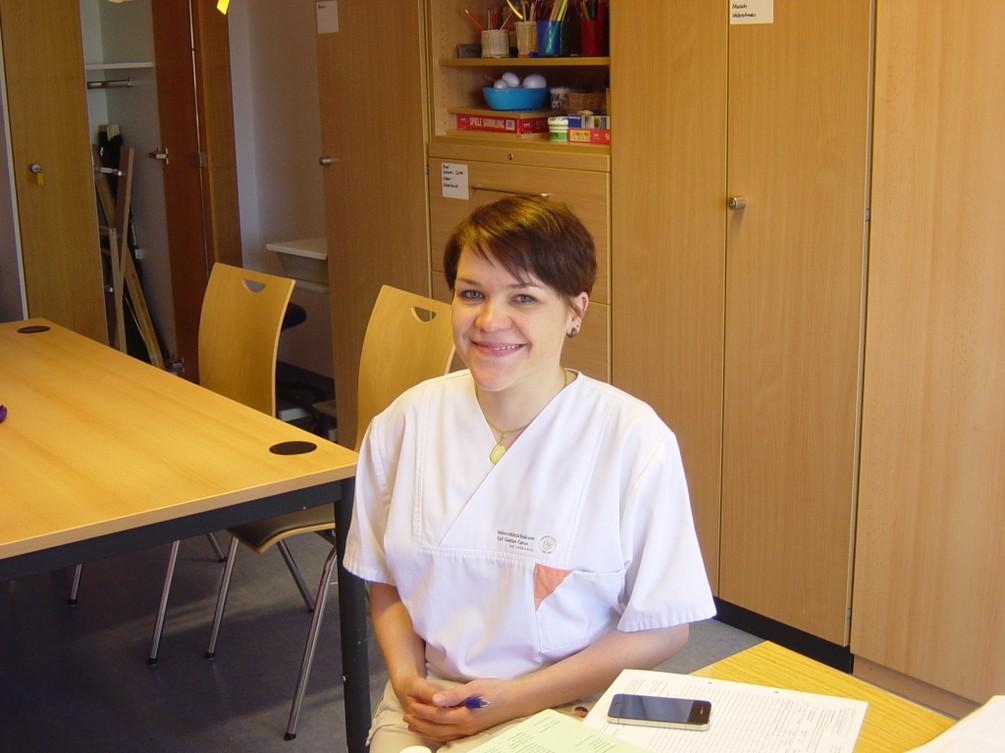 Ergotherapeutin Frau Kettler