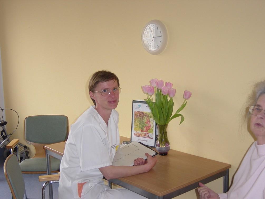 Ergotherapeutin Frau Lauschke