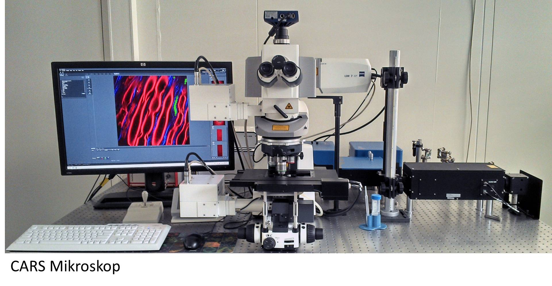 CARS Mikroskop