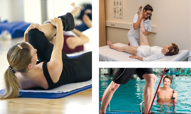 Physiotherapeutische Maßnahmen
