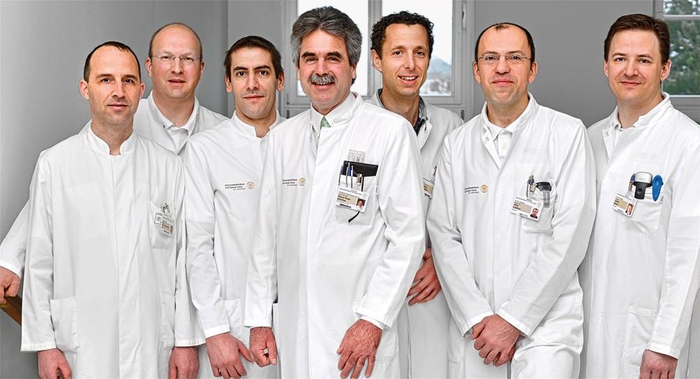 Mitarbeiter des UniversitätsCentrums für Orthopädie und Unfallchirurgie