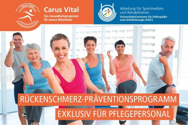 Rückenschmerz-Präventionsprojekt in der Pflege