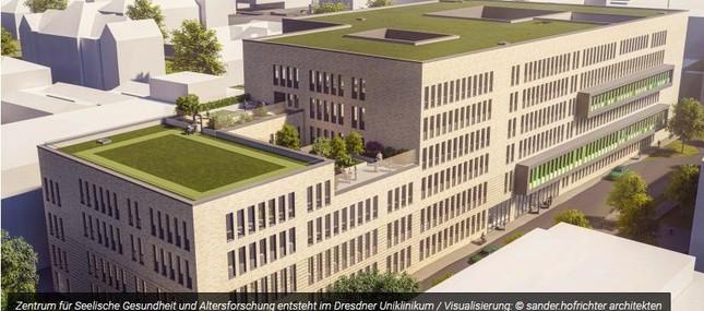 Zentrum für Seelische Gesundheit und Altersforschung entsteht am Dresdner Uniklinikum