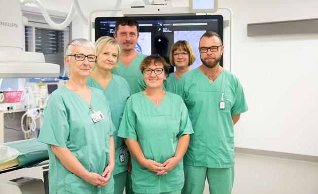 Team Angiographie Funktionsschwestern