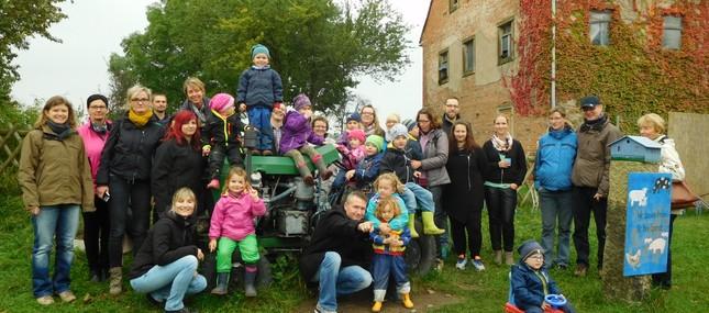 Eltern-Kind-Seminar auf dem Bauernhof 2016