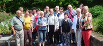 Reha Wandertag zum Botanischen Blindengarten in Radeberg