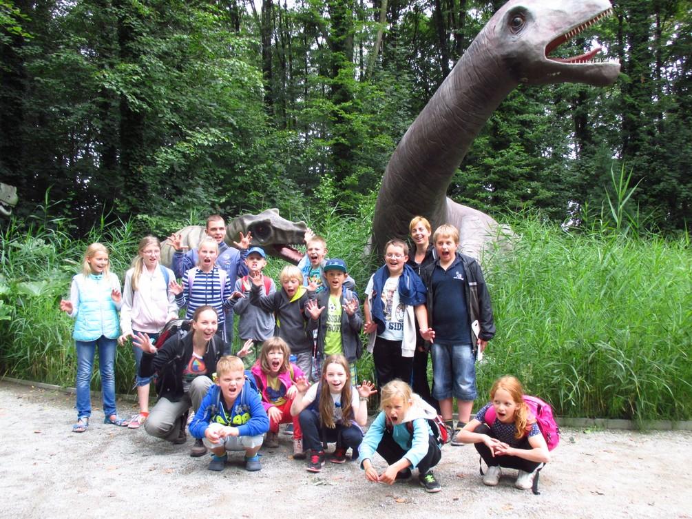 """""""Wilde"""" Besucher im Saurierpark Kleinwelka"""