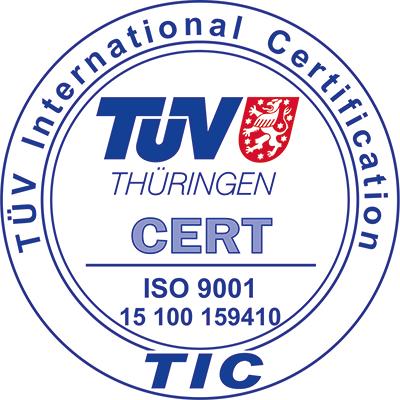 Logo SCIC ISO 9001