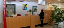 Anmeldung der Klinik