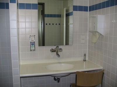 Bad eines Patientenzimmers auf Station