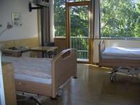 2-Bett Patientenzimmer auf Station