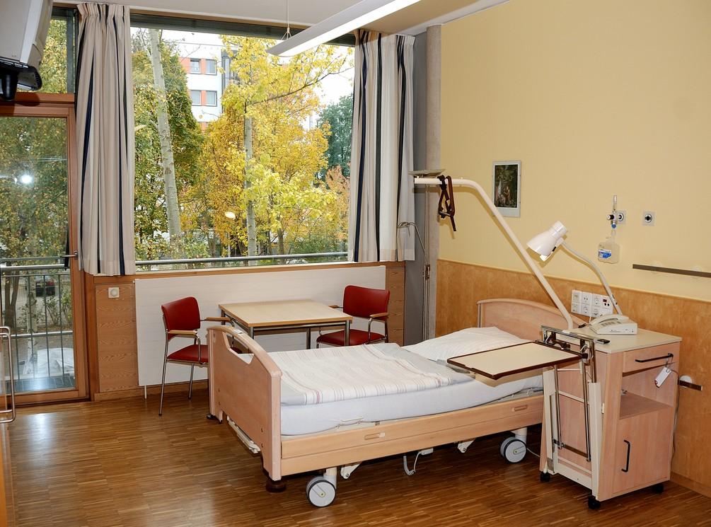 1-Bett Patientenzimmer