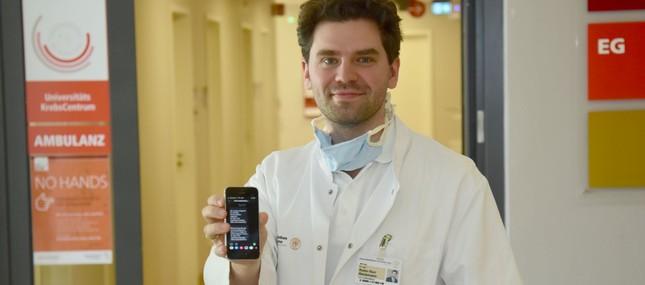 Patienten-SMS des Uniklinikums sorgt für höhere Sicherheit in Zeiten der Corona-Pandemie