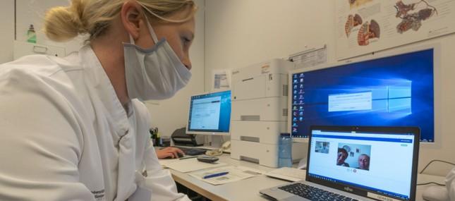 Videosprechstunde der Chirurgie schützt und schont Patienten