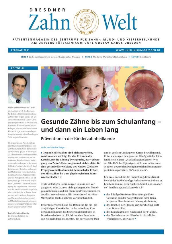 UKD ZMK Zahnwelt - Ausgabe 1