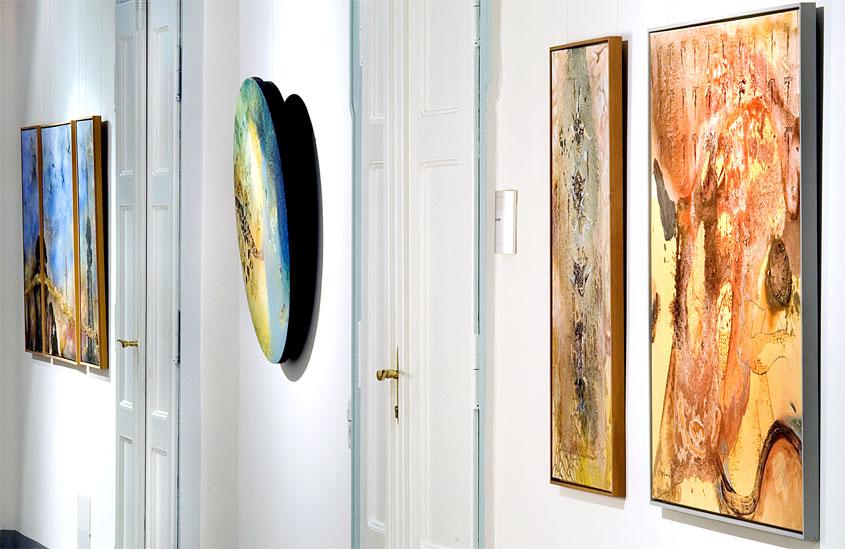Kunstausstellung Haus 1