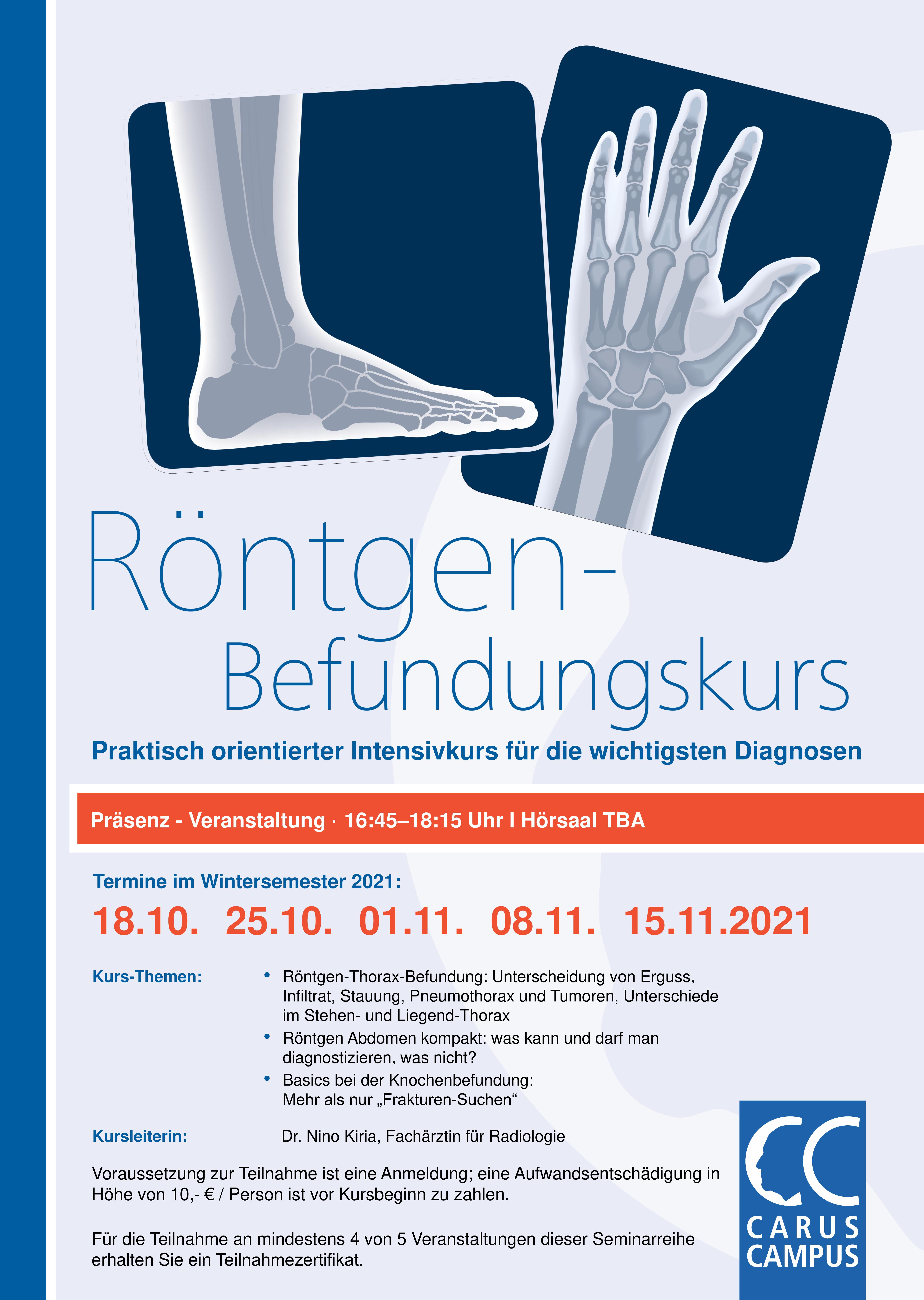 Röntgenbefundungskurs