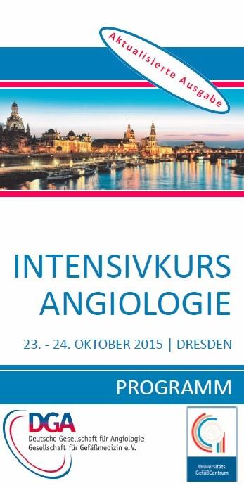 Intensivkurs Angiologie 2015