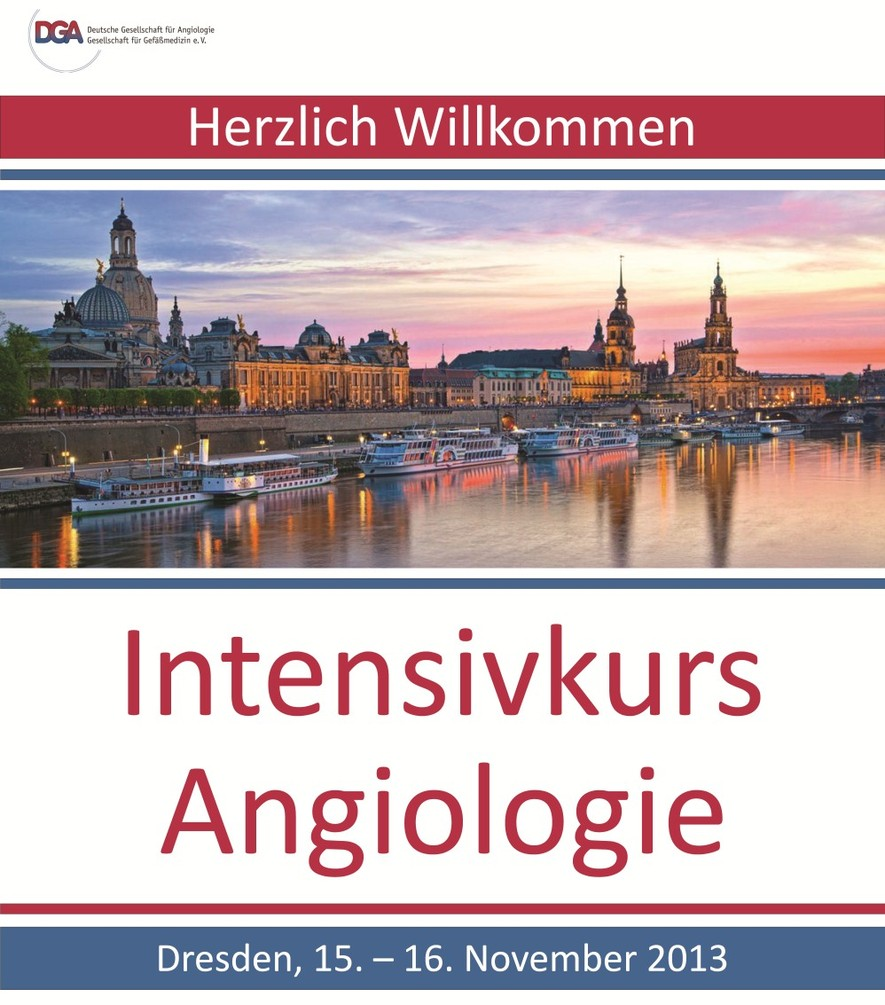 2013 - Intensivkurs Angiologie
