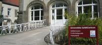 Universitäts GefäßCentrum - Eingang