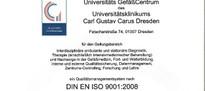 Zertifizierungsurkund DIN EN ISO
