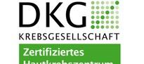 Logo DKG - Zertifiziertes Hautkrebszentrum