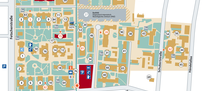 Hauttumorzentrum - Lageplan