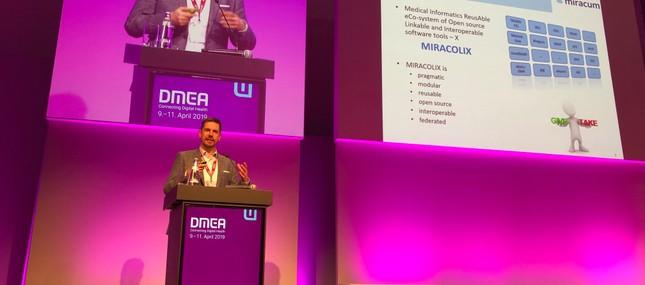 Medizininformatik-Initiative präsentiert sich auf der DMEA