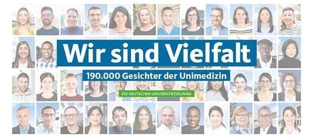 Das Universitätsklinikum Carl Gustav Carus Dresden steht für Vielfalt und Toleranz.