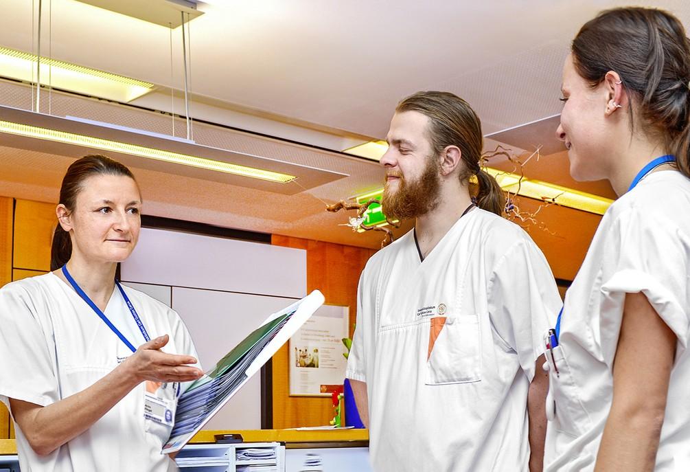 Foto Leitungsaufgaben in Gesundheitseinrichtungen