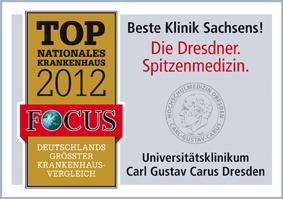 FOCUS Top Nationales Krankenhaus 2012