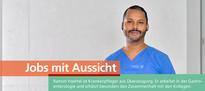 """""""Am Uniklinikum spürt man besonders den medizinischen Fortschritt und man ist wirklich auf dem neuesten Stand der Technik"""""""