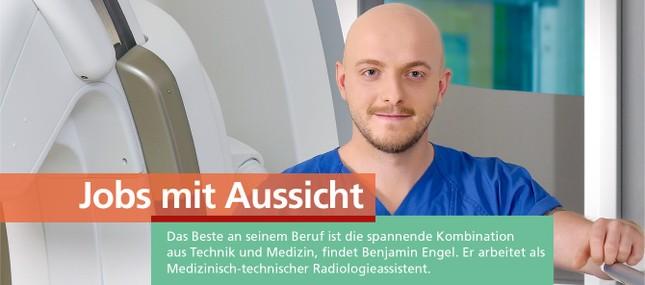 """""""Die spannende Kombination aus Technik und Medizin ist das Beste für mich an diesem Beruf."""""""