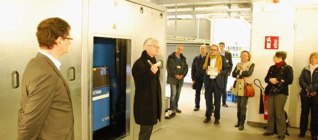 Klinikum baut Netzersatzanlage zur optimalen Stromversorgung aus
