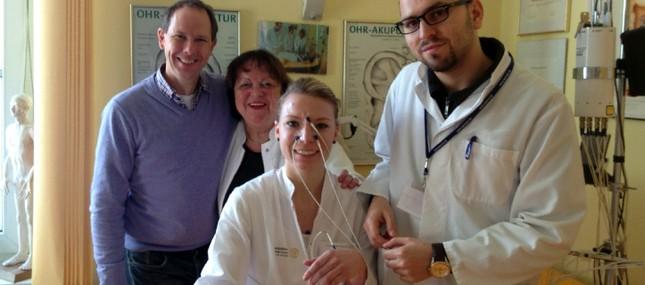 Doktoranden des Uniklinikums erforschen Laser-Akupunktur gegen Heuschnupfen